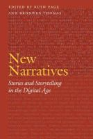 - New Narratives: Stories and Storytelling in the Digital Age (Frontiers of Narrative) - 9780803217867 - V9780803217867