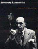 Ethain Haimo - Stravinsky Retrospectives - 9780803273016 - KEX0212527
