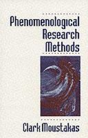 Moustakas, Clark E. - Phenomenological Research Methods - 9780803957992 - V9780803957992
