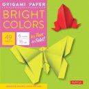 Tuttle Publishing - Origami Paper Bright 6
