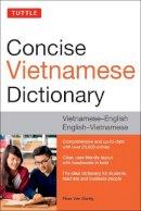 Giuong, Phan Van - Tuttle Concise Vietnamese Dictionary: Vietnamese-English English-Vietnamese - 9780804843997 - V9780804843997