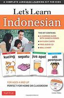 Hibbs, Linda - Let's Learn Indonesian Kit: A Complete Language Learning Kit for Kids (64 Flashcards, Audio CD, Games & Songs, Learning Guide and Wall Chart) - 9780804845984 - V9780804845984