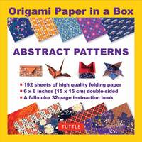 Tuttle Publishing - Origami Paper in a Box - Abstract Patterns - 9780804846073 - V9780804846073