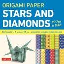 - Origami Paper - Stars and Diamonds - 6