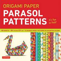 - Origami Paper Parasol Patterns 8 1/4