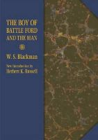 Blackman, W. S. - The Boy of Battle Ford and the Man (Shawnee Classics) - 9780809331284 - V9780809331284