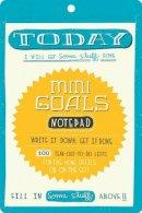 McDevitt, Mary Kate - Mini Goals Notepad - 9780811875240 - V9780811875240