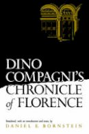 - Dino Compagni's Chronicle of Florence (The Middle Ages Series) - 9780812212211 - KOC0018884
