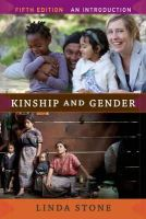 Stone, Linda - Kinship and Gender - 9780813348612 - V9780813348612