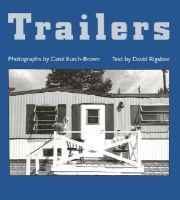 Burch-Brown, Carol, Rigsbee, David - Trailers - 9780813916804 - KEX0227561