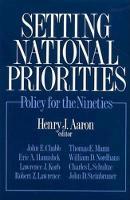 Henry J. Aaron - Setting National Priorities - 9780815700470 - KON0588727