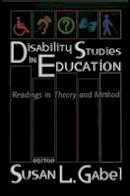 - Disability Studies in Education - 9780820455495 - V9780820455495