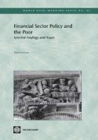 Honohan, Patrick - Financial Sector Policy and the Poor: Selected Findings and Issues (World Bank Working Papers) - 9780821359679 - KRS0020397