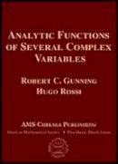 Robert C. Gunning, Hugo Rossi - Analytic Functions of Several Complex Variables (AMS Chelsea Publishing) - 9780821821657 - V9780821821657