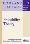 Varadhan, S.R.S (New York University, Courant Institute of Mathematical Sciences, USA) - Probability Theory - 9780821828526 - V9780821828526