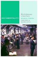 Ferraris, Maurizio; Davies, Richard - Documentality - 9780823249695 - V9780823249695