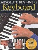 VARIOUS - Absolute Beginners - Keyboard: Book/DVD Pack - 9780825619236 - V9780825619236