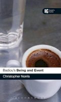 Norris, Christopher - Badiou's 'Being and Event': A Reader's Guide - 9780826498281 - V9780826498281