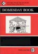 - Domesday Book: Oxfordshire - 9780850331707 - V9780850331707