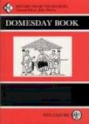 - Domesday Book: Herefordshire - 9780850334708 - V9780850334708