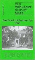 Boast, Mary - East Dulwich and Peckham Rye 1868: London Sheet  117.1 (Old O.S. Maps of London) - 9780850540727 - V9780850540727