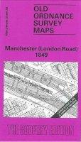 Makepeace, Chris - Manchester (London Road) 1849: Manchester Sheet 34 (Old Ordnance Survey Maps of Manchester) - 9780850543070 - V9780850543070