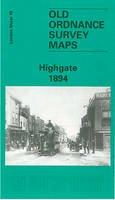 Taylor, Pamela - Old Ordnance Survey Maps of London (Old O.S. Maps of London) - 9780850547856 - V9780850547856