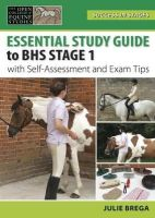 Brega, Julie - BHS Stage 1 Study Guide (Success in Stages Series) - 9780851319797 - V9780851319797