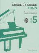 - GRADE BY GRADE PIANO - 9780851629407 - V9780851629407