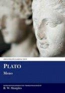 Sharples, R.W. - Plato: Meno (Aris and Phillips Classical Texts) - 9780856682490 - V9780856682490