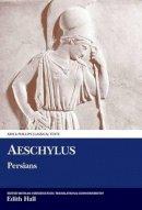Aeschylus - Persians (Ancient Greek Edition) - 9780856685972 - V9780856685972