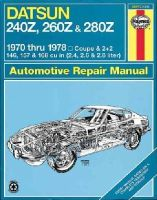 Haynes, J. H.; Strasman, Peter G. - Datsun 240Z/260Z Owner's Workshop Manual - 9780856962066 - V9780856962066