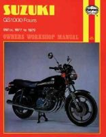 Meek, Martyn - Suzuki GS1000 Fours Owner's Workshop Manual - 9780856964848 - V9780856964848