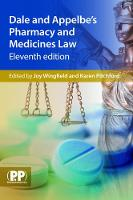 - Dale and Appelbe's Pharmacy and Medicines Law - 9780857112026 - V9780857112026