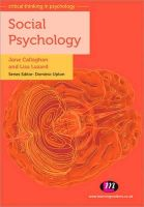 Callaghan, Jane; Lazard, Lisa - Social Psychology - 9780857252807 - V9780857252807
