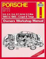 Anon - Porsche 911 Owner's Workshop Manual (Haynes Service and Repair Manuals) - 9780857336064 - V9780857336064
