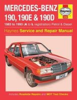 Anon - Mercedes-Benz 190 Service and Repair Manual (Haynes Service and Repair Manuals) - 9780857336422 - V9780857336422