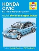 - Honda Civic Service and Repair Manual (Haynes Service and Repair Manuals) - 9780857336910 - V9780857336910