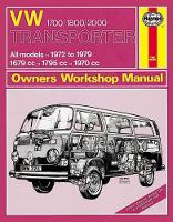 Anon - VW Transporter 1700/1800/2000 Owners Workshop Manual (Haynes Service and Repair Manuals) - 9780857337412 - V9780857337412