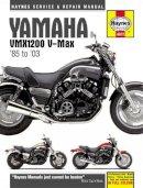 Editors of Haynes Manuals - Yamaha VMX1200 V-Max '85 to '03 (Haynes Service & Repair Manual) - 9780857338655 - V9780857338655