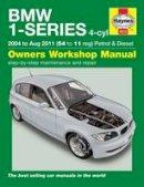 - BMW 1-Series 4-Cylinder Petrol & Diesel 04-11 - 9780857338723 - V9780857338723