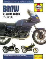 HAYNES, JOHN H - BMW 2-Valve Twins Service and Repair Manual - 9780857339027 - V9780857339027