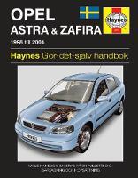 Haynes Publishing - Opel Astra & Zafira (Haynes Service and Repair Manuals) (Swedish Edition) - 9780857339478 - V9780857339478