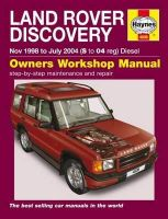 - Land Rover Discovery Service and Repair Manual (Haynes Service and Repair Manuals) - 9780857339515 - V9780857339515