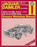 Haynes - Jaguar XJ6, XJ & Sovereign Service and Repair Manual (Haynes Service and Repair Manuals) - 9780857339638 - V9780857339638