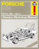 Anon - Porsche 924 Service and Repair Manual (Haynes Service and Repair Manuals) - 9780857339645 - V9780857339645