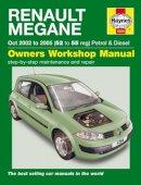 Brian Close - Renault Megane Service and Repair Manual (Haynes Service and Repair Manuals) - 9780857339744 - V9780857339744