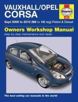 Anon - Vauxhall/Opel Corsa Service and Repair Manual (Haynes Service and Repair Manuals) - 9780857339799 - V9780857339799