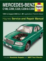 Anon - Mercedes-Benz C-Class Petrol & Diesel Service and Repair Manual (Haynes Service and Repair Manuals) - 9780857339881 - V9780857339881