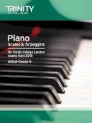 Trinity College Lond - Piano 2015 Scales & Arpeggios Initial - Grade 5 - 9780857363442 - V9780857363442
